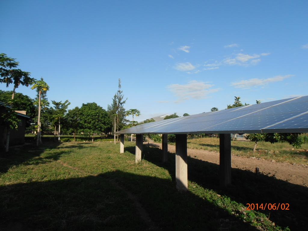 solar panels Tanzania